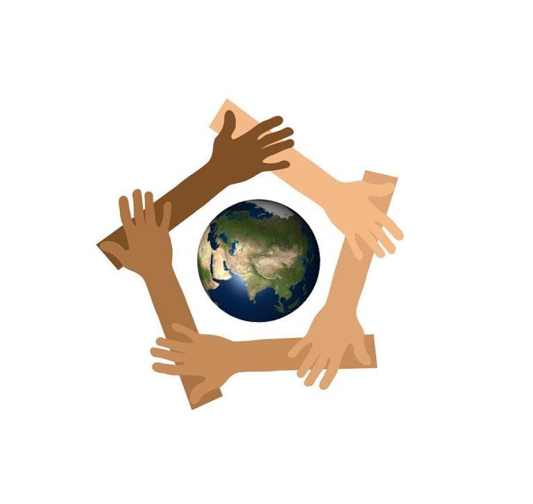 Earth Hands Unity Diversity  - geralt / Pixabay